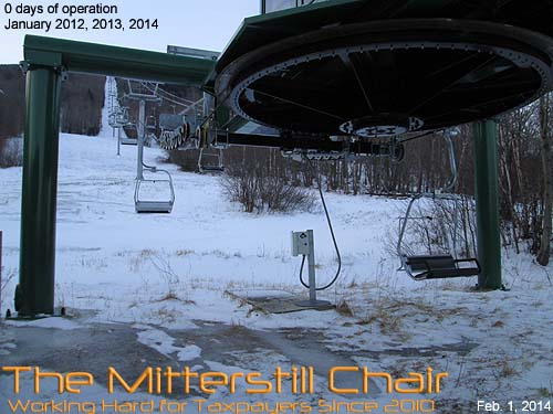 The Mitterstill Chair on February 1, 2014